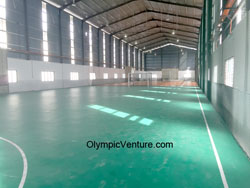 3 Imported Green 7mm PVC Vinyl VFlexFlor Mat Futsal Courts Tasek Ipoh.