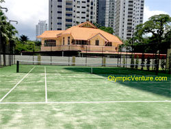 8 Gurney Condominium ITF Certified Synthetic Turf Tennis Court