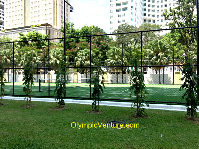 Another view of 8 Gurney Condominium Penang International Tennis Federation (ITF) Certified Synthetic Turf Tennis Court