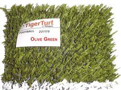 click on image to view a large image of the Tiger Turf synthetic turf sample