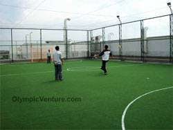 another view of 1 rooftop outdoor futsal court for Canon, KL