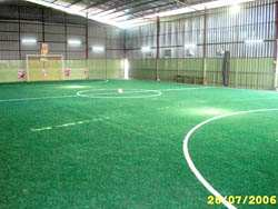 Another view of the indoor futsal court in Kelantan