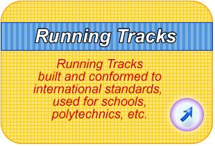 IAAF certified running tracks