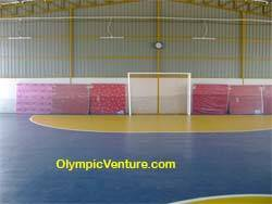 1 Olymflex rubberized futsal court in Sungai Petani, Kedah