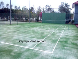 Another View of Royal Kedah Club ITF Synthetic Turf Tennis Court