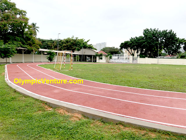 Installed new running track for SMJK Phor Tay School, Penang