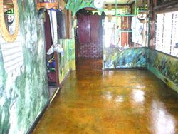 acid stain flooring color malay tan