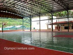 Another View of 1 Rubberized Basketball Court in Alice Smith Secondary School, Seri Kembangan, KL