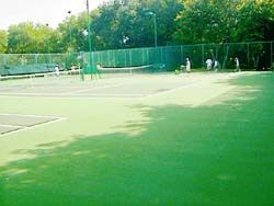 bukit jambul country club hard courts