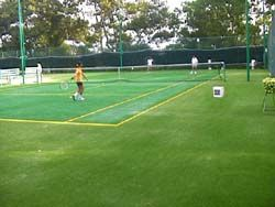 bukit jambul country club synthetic grass court