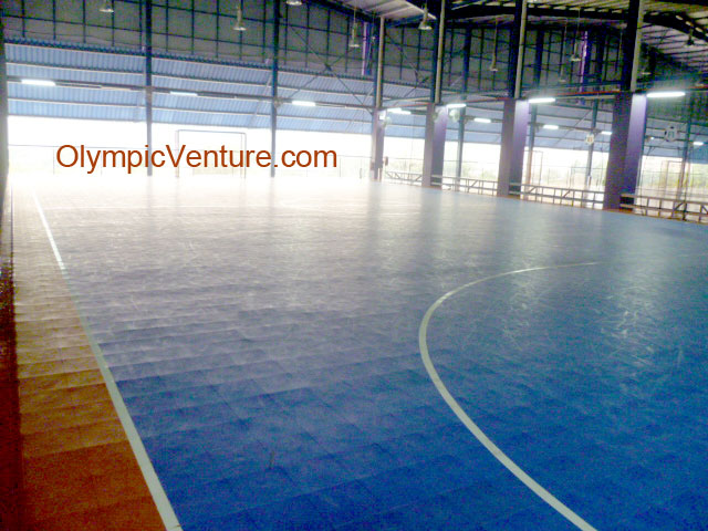 Modular Interlocking Techtiles for 3 futsal courts in Old Klang Road, Kuala Lumpur.