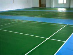 3 Badminton courts using Olymflex Rubberized Floor for Kepong Sentral Condominium