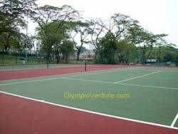 2 tennis hard courts