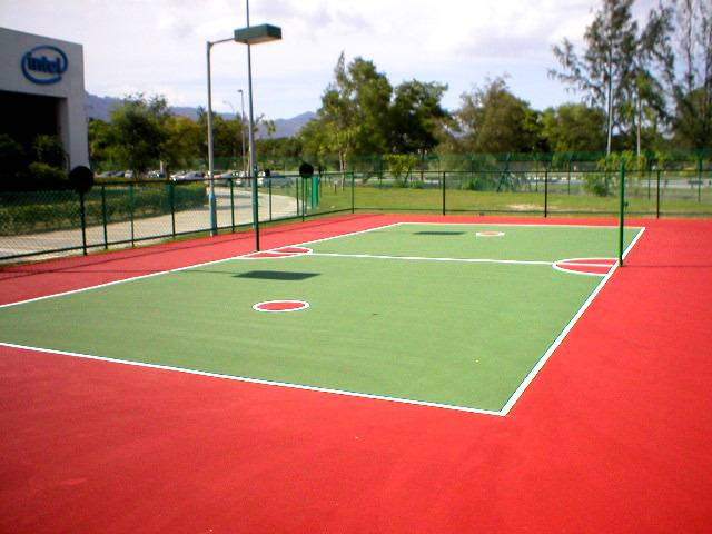 Olympic Venture - A Sepak Takraw Court using Plexipave for ...