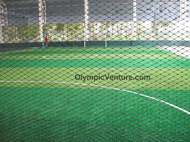 Another View of Shah Alam Extreme Park Futsal Centre's 2 toned Tiger Turf, 4 courts