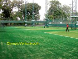 4 synthetic turf tennis court for Royal Lake Club