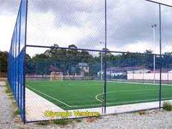 Tasek Gelugor community centre's 1 outdoor synthetic turf futsal court.