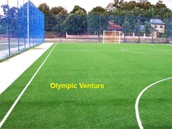 Tasek Gelugor community centre's 1 outdoor synthetic turf futsal court, another view